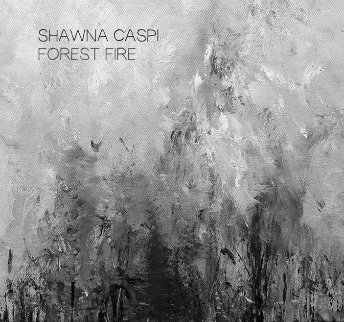 Forest Fire cover - bw